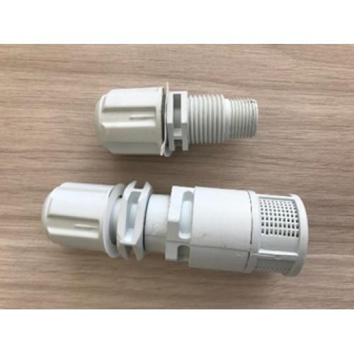 Válvula de pé e válvula injetora para Dosadora